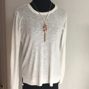 CK White Sweater NWT